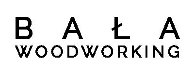 BAŁA Woodworking Logo - Meble z Litego Drewna